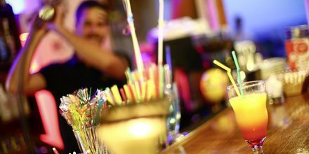 Bar på hotel Alea i Parga, Grækenland.