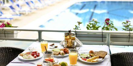 Morgenmadsbuffet på Hotel Alea i Parga, Grækenland.