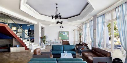 Lobby på Hotel Alea Mare på Leros, Grækenland.
