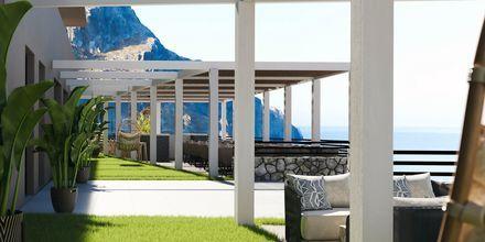 Skitsetegning på Hotel Alegria Beach Resort i Plakias på Kreta, Grækenland.