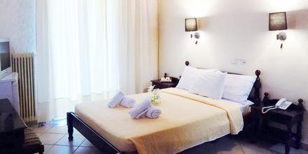 Dobbeltværelse på Hotel Alexandros på Lefkas i Grækenland.