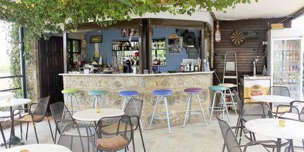 Poolbaren på Hotel Alexandros M i Maleme på Kreta