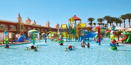 Børnepool på Hotel Alf Leila Wa Leila Waterpark i Hurghada.