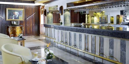 Reception på Hotel Alf Leila Wa Leila Waterpark i Hurghada.