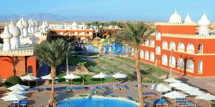 Pool på Hotel Alf Leila Wa Leila Waterpark i Hurghada.