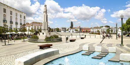 Tavira på Algarvekysten, Portugal