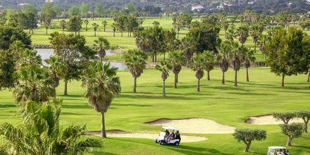En af de fine golfbaner på Algarvekysten, Portugal