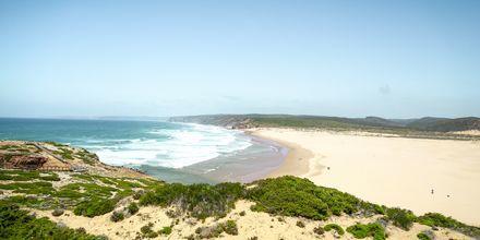 Praia do Borderia på Algarvekysten, Portugal