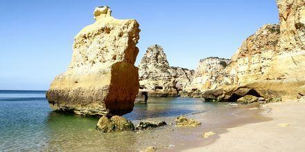Praia da Marinha på Algarvekysten, Portugal