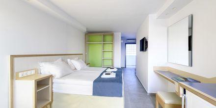Enkeltværelse på Hotel Alia Beach i Hersonissos, Kreta, Grækenland.