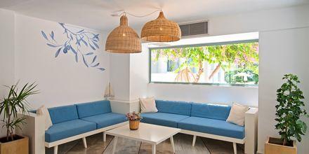 Reception på Hotel Alia Beach i Hersonissos, Kreta, Grækenland.