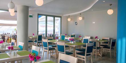 Morgenmadsbuffet på Hotel Alia Beach i Hersonissos, Kreta, Grækenland.