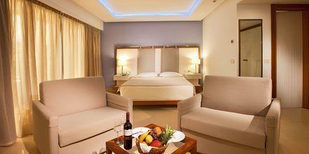 Junior-suite på Hotel Alimounda Mare  på Karpathos, Grækenland.