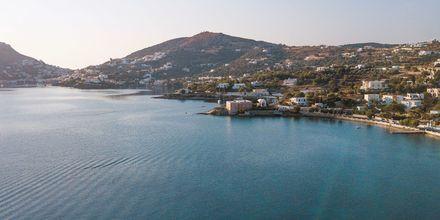 Udsigt over Leros, Grækenland.