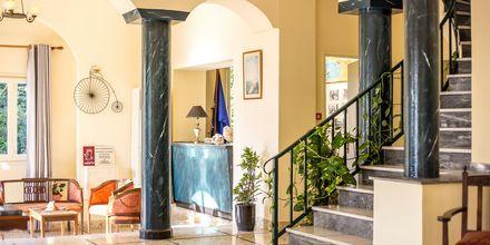 Lobby på Hotel Alinda på Leros i Grækenland.