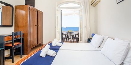 Dobbeltværelse på Hotel Alinda på Leros i Grækenland.