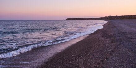 Stranden ved Almyra Hotel & Village i Ierapetra på Kreta