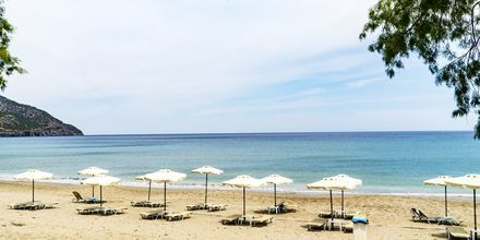 Stranden ved Almyra Village, Karpathos