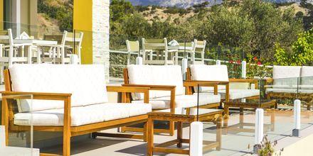Terrasse på Almyra Village, Karpathos