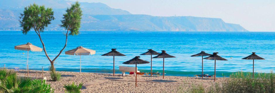Almyrida/Kalives på Kreta, Grækenland.
