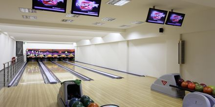 Bowling på Almyrida Resort på Kreta, Grækenland.
