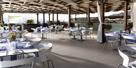 Restaurant på Almyrida Resort på Kreta, Grækenland.