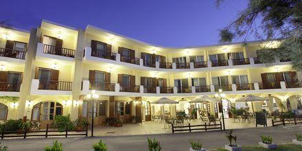 Udsigt over Almyrida Resort på Kreta, Grækenland.