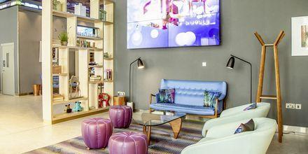 Lobby på Hotel Aloft Palm Jumeirah, Dubai.