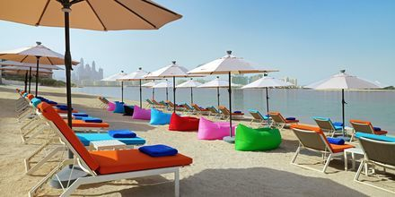 No Shu Beach på Hotel Aloft Palm Jumeirah, Dubai.