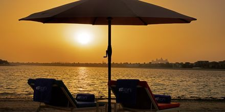 No'Shu Beach på Hotel Aloft Palm Jumeirah, Dubai.
