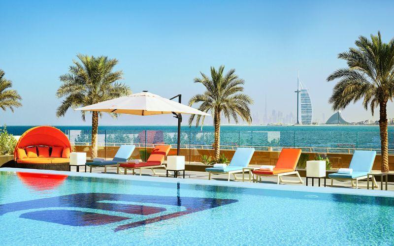 Aloft Palm Jumeirah - vinter