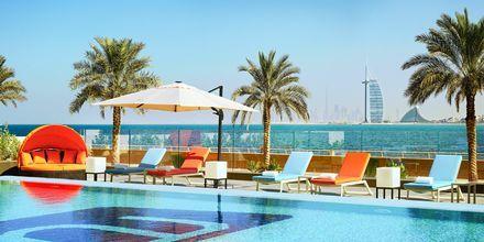 Splash, poolområdet på Hotel Aloft Palm Jumeirah, Dubai.