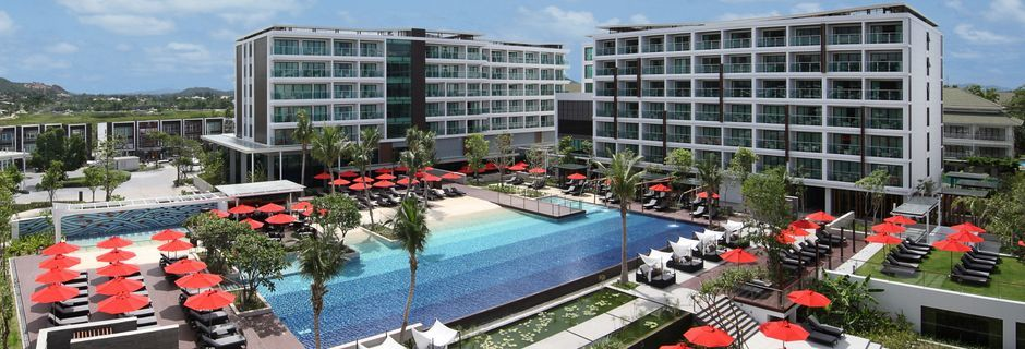 Poolområde på Hotel Amari Hua Hin i Hua Hun, Thailand.