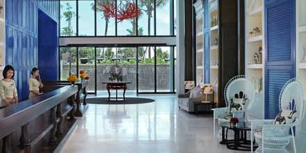 Lobby på Hotel Amari Hua Hin i Hua Hun, Thailand.
