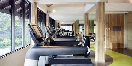 Fitness på hotel Amari Koh Samui.