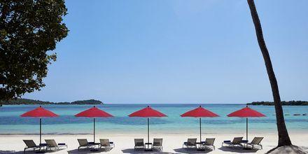 Stranden ved hotel Amari Koh Samui.