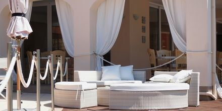 Hotel Ammos Bay i Ammoudia, Grækenland.