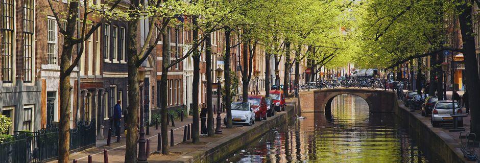 Hovedstaden Amsterdam er utroligt smuk.