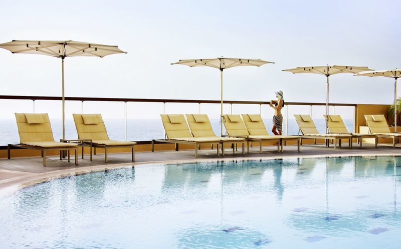 Pool på Amwaj Rotana Jumeirah Beach, Dubai Jumeirah Beach