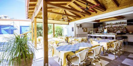 Restaurant på Hotel Anais Summerstar i Agii Apostoli på Kreta, Grækenland.