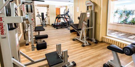 Fitnessrum på hotel Anais Summerstar i Agii Apostoli, Kreta, Grækenland.