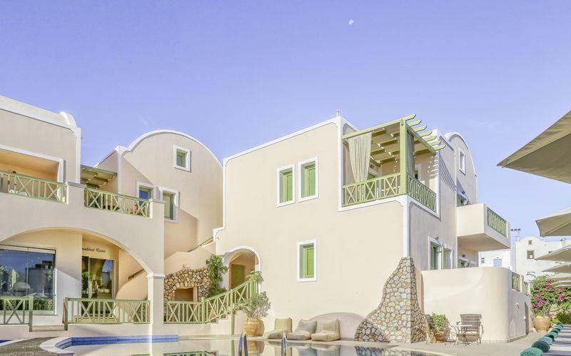 Hotel Anassa i Kamari på Santorini
