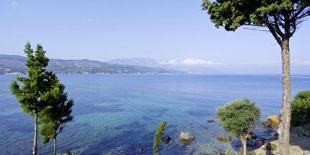 Stranden ved Hotel Andromeda på Samos, Grækenland.