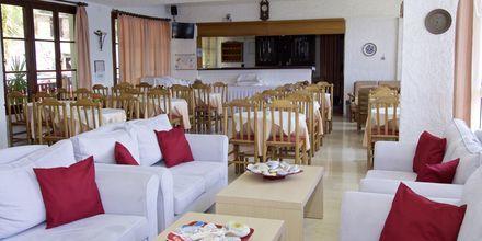Morgenmadsområde på Hotel Andromeda på Samos, Grækenland.