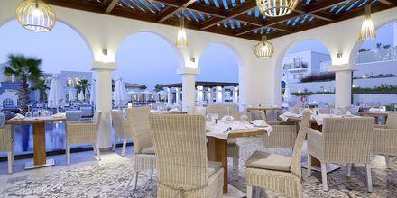 Ostria, en af a la carte restauranterne på Hotel Anemos Luxury Grand Resort i Georgiopolis på Kreta, Grækenland.