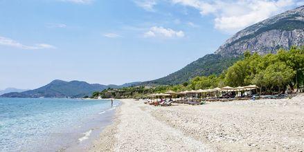Stranden Votsalakia på Samos.