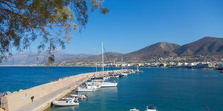 Havnen i Anissaras på Kreta.