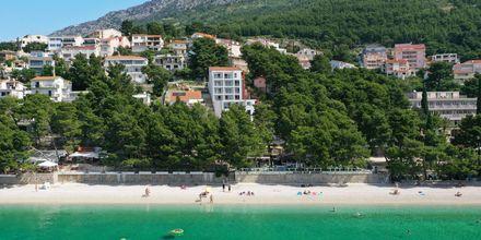 Skitsetegning på Hotel Anna Noemia i Baska Voda, Kroatien.