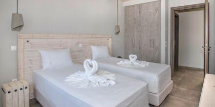 Renoverede 2-værelses lejligheder på Hotel Anthemis på Samos, Grækenland.