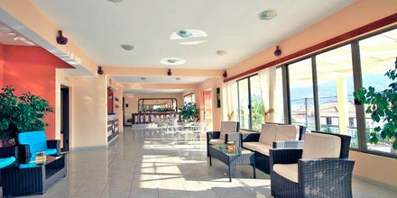 Lobby på Hotel Anthemis på Samos, Grækenland.